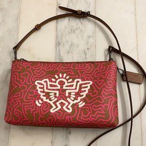 Coach + Keith Haring Collaboration Bag angels 👼